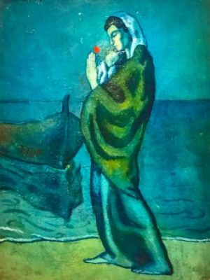 Picasso-Mother Child Sea.