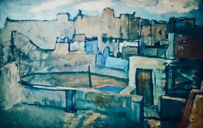 Picasso-Barcelona Rooftops 2.