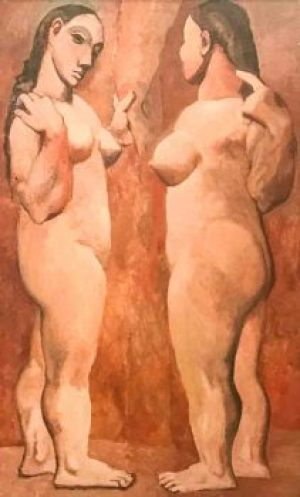 Picasso-Two Nude Women.