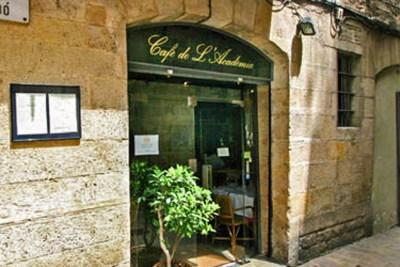 Barcelona-Cafe de l'Academia.