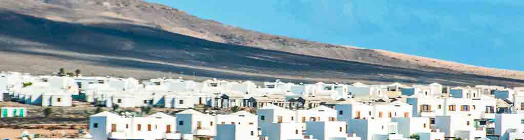 Lanzarote-Whitewashed village