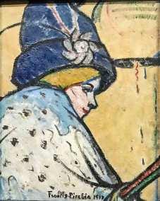 Portrait de Mistinguett, Francis Picabia about 1908-1911, Post-Impressionist oil on canvas (Guggenheim Museum, New York).