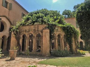 Abbey of Valmagne - Cloister Pergola.