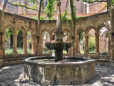 Abbey of Valmagne - Cloister Fountain.