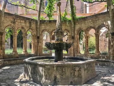 Abbey of Valmagne - Cloister Fountain.