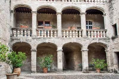 Pézénas - Hôtel d'Alfonce.