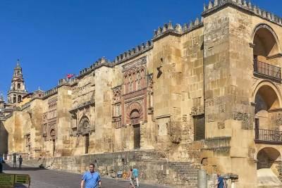 The fortress-like exterior of La Mesquita (2).