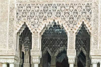Stucco Arches in the Nasrid Palaces (1).