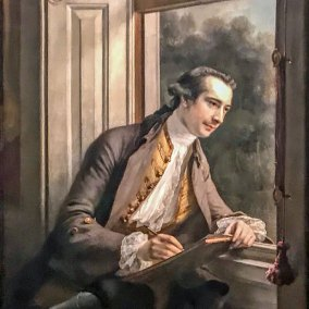 Paul Sandby (1761. Francis Cotes, oil on canvas).