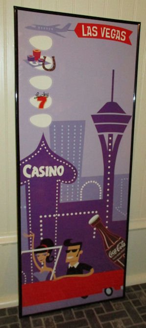 2 RARE Shag Space Girl Matchbooks Josh Agle Venus Room Venetian Casino Vegas