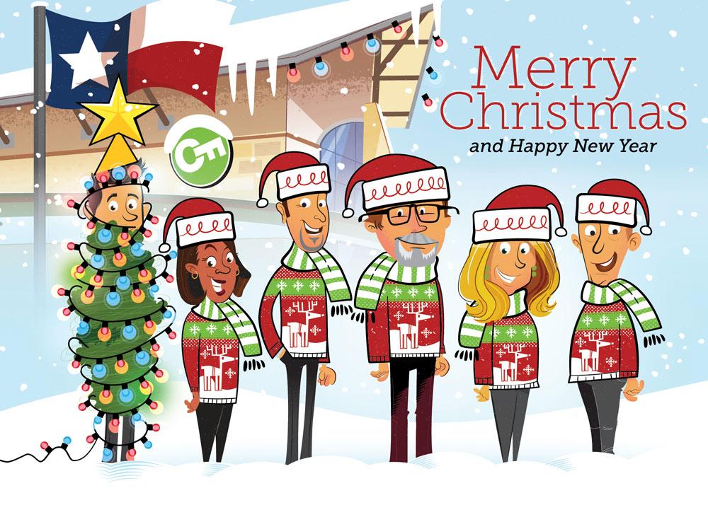 Cy-Fair Christmas card