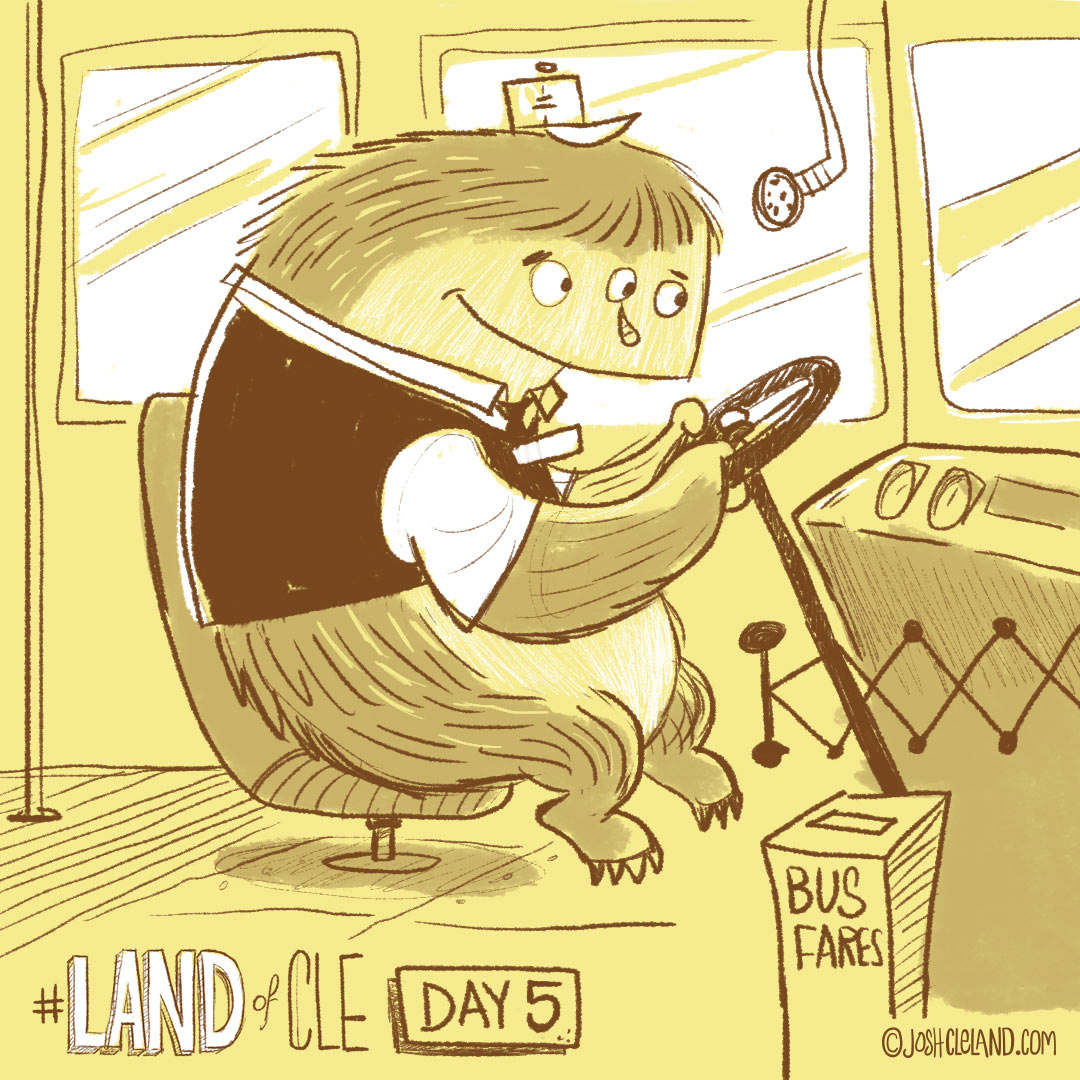 Land of Cle day 5 by Josh Cleland