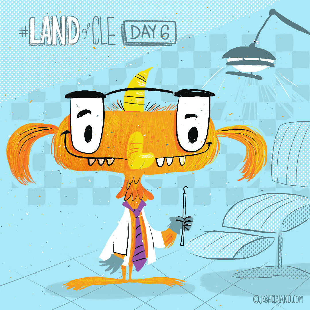 Land of Cle day 6 by Josh Cleland