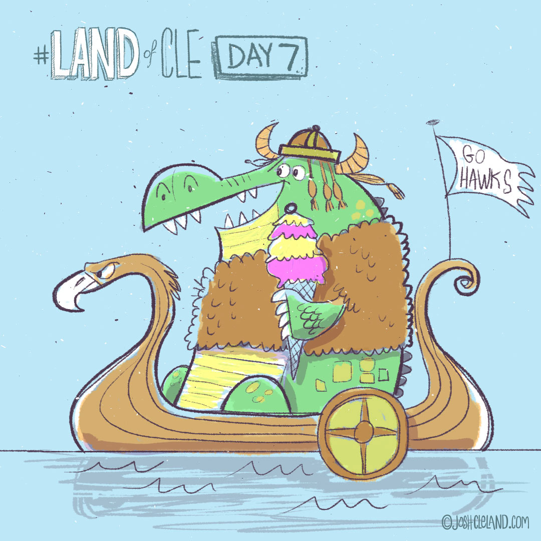 Land of Cle day 7 by Josh Cleland