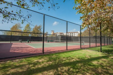 Tennis Courts at Playa Vista Sports Park in Playa Vista, CA