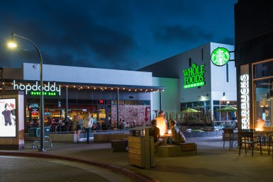 Starbucks, Whole Foods and Hopdoddy Burgers in Playa Vista, CA
