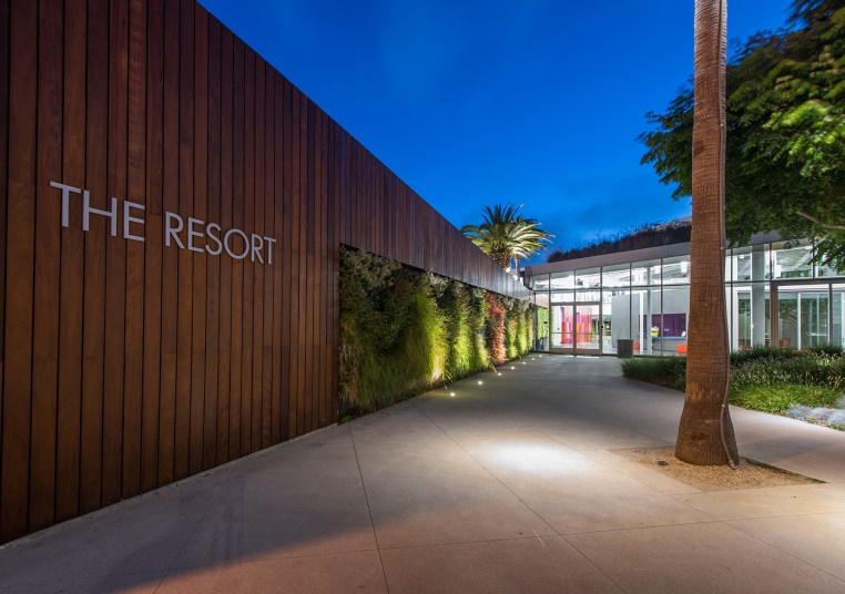 Entrance at The Resort in Playa Vista, CA