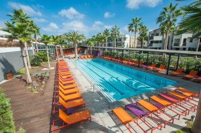 Pool at The Resort in Playa Vista, CA