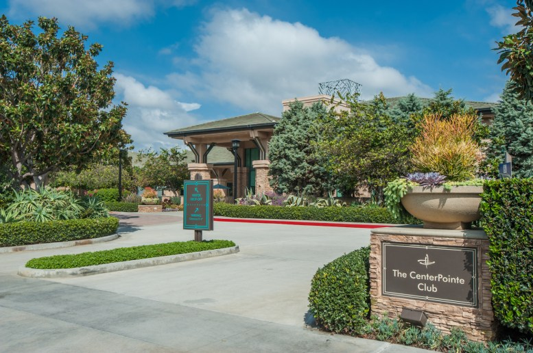 Entrance at The Centerpoint Club in Playa Vista, CA