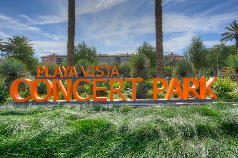 Concert Park in Playa Vista, CA