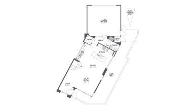 Encore Playa Vista Plan 1 Floor 1