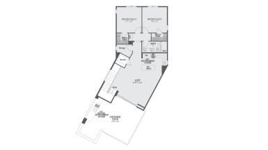 Encore Playa Vista Plan 2 Floor 3