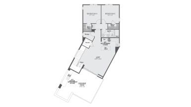 Encore Playa Vista Plan 3 Floor 3