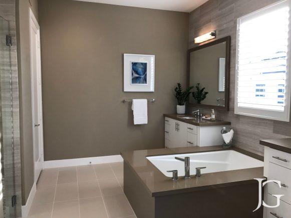 Mason Playa Vista Plan 2 Model Master Bathroom