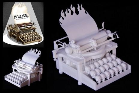 Skull Typewriter (Emek)