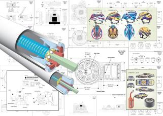 Technical Illustrations & Control Art