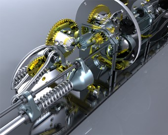 Gauss Engine (Solidworks)