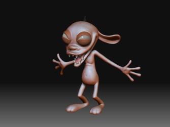 Ren Hoek (Character Modeling/Digital Sculpture)