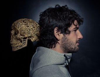 Joshua Harker, 3d printing, skull, Nike, Alexandre Pato