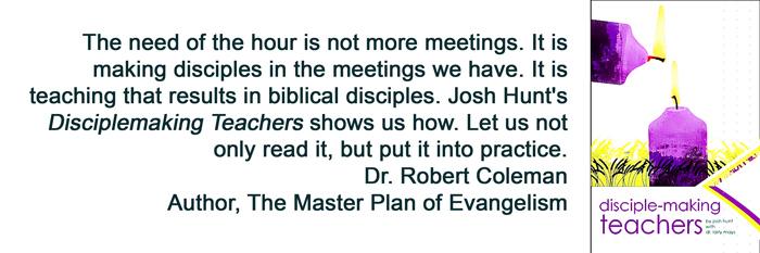 Disciplemaking Teachers
