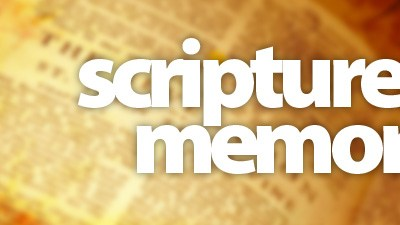Encourage your people to memorize Scripture