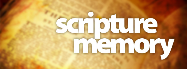 Encourage your people to memorize Scripture