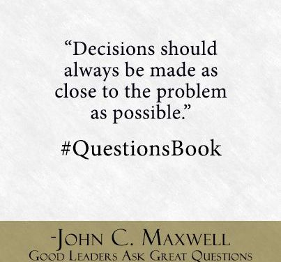 Questions Challenge Mind-Sets and Get You Out of Rut