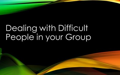 How to deal with difficult people in your small group
