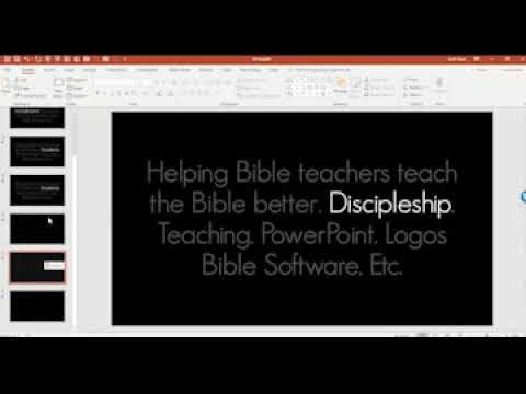 How to make words POP in PowerPoint