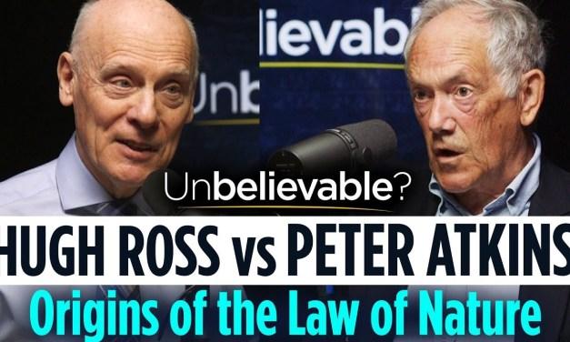 Hugh Ross vs Peter Atkins • Debating the origins of the laws of nature