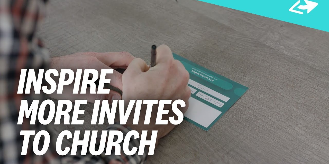 How To Attract New People To Church Through Invitations