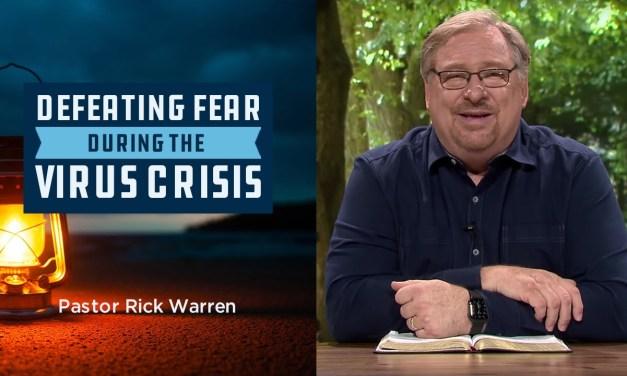 Rick Warren on Covid-19