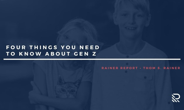 Four Things You Need to Know about Gen Z
