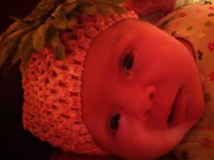 Mabry Cate - This beautiful face was almost a statistic.