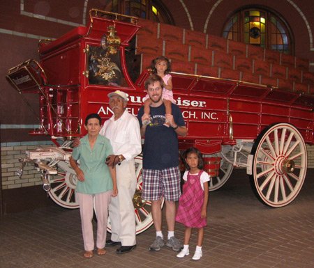 THURSDAY: Anheuser-Busch Brewery tour – Extraordinary Renaud Family