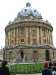 Radcliffe Camera - home of Bodleian Library reading room