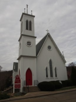 St. Paul's Episcopal Church in Ironton, Mo. is on the National Register of Historic Places.