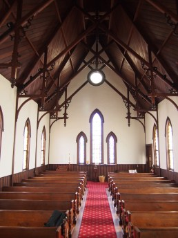 Sanctuary of St. Paul's Episcopal Church in Ironton, Mo.