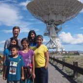 We were so excited to visit the Very Large Array, a radio telescope in New Mexico. It did not disappoint. It had a great visitor center, and lots of activities to explore.