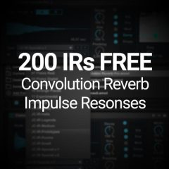 "Exclusive: 200 IRs for Convolution Reverb ""Synthetic Prototypes"""